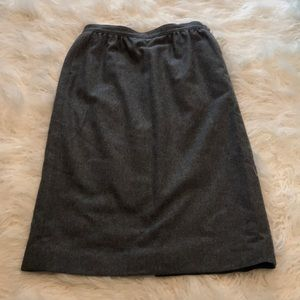 VTG PENDLETON PETITE VIRGIN WOOL PENCIL SKIRT